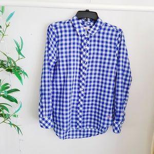 Vineyard vine blue graham shirt